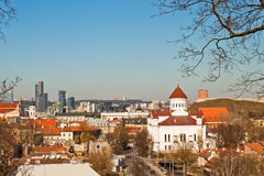 View of Vilnius Stock Photos