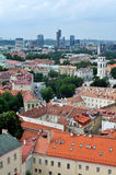 View of Vilnius old town Royalty Free Stock Photos