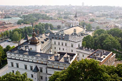 View of Vilnius old town, Lithuania Stock Photography