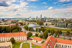 View of Vilnius Royalty Free Stock Photos