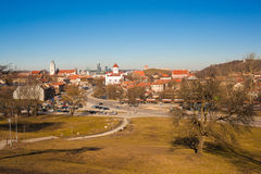 View of Vilnius Royalty Free Stock Photos