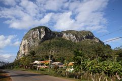 View of Vinales valley, cuba royalty free stock photo