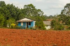 Vinales valley, Cuba. Royalty Free Stock Image