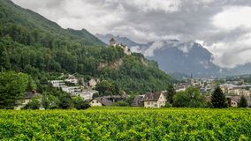 Vaduz, Liechtenstein. royalty free stock images