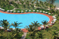 View of Vinpearl Phu Quoc resort, a project by Vingroup corporation, in Phu Quoc island Stock Photography