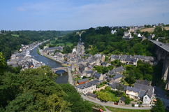 View of VIRE (Fracnce). VIEW of VIRE in Normandy (France) on JULY 2014 Royalty Free Stock Image