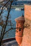 View on the Vistula river Stock Photography