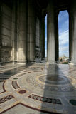 View from Vittorio. A view from inside the Monument to Vittorio Emanuele ll stock photos