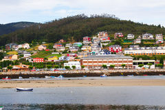 View of Viveiro with river. Lugo Stock Photos