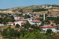 View of Vize, Kirklareli. Royalty Free Stock Images