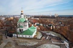 View of Vladimir city. Stock Photography