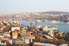 View of Vladivostok Royalty Free Stock Photo