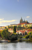 View of Vltava river Royalty Free Stock Photo