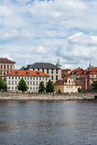 View of Vltava river Royalty Free Stock Image