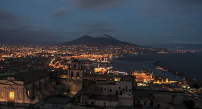 Bay of Naples Stock Image