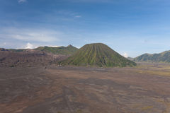 A view of the volcano Bromo in Indonesia Stock Photo
