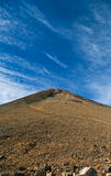 View of volcano crater Royalty Free Stock Image