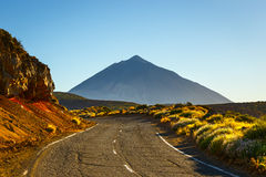 View of the Volcano El Teide Royalty Free Stock Images