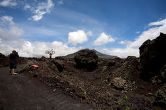 Volcano Gunung batur Royalty Free Stock Photos