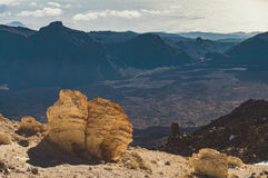 View from volcano Teide, Tenerife Royalty Free Stock Photo