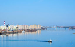 View of Volga river Stock Photography