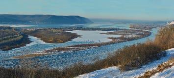 View of the Volga River. Stock Photos