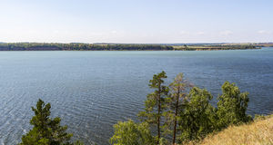 View of the Volga River Royalty Free Stock Photo