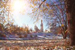 View of the Vologda Kremlin Stock Photography