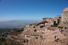 Volterra landscape, Tuscany, Italy royalty free stock photography