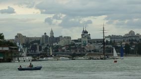 View of Voronezh. Royalty Free Stock Images