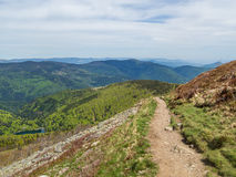 View of vosges hills Royalty Free Stock Image