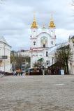 View of the Voskresenskaya (Rynkovaya) church, Vitebsk, Belarus Royalty Free Stock Image
