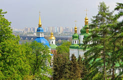 View of Vydubychi Monastery, Kyiv, Ukraine Royalty Free Stock Photo