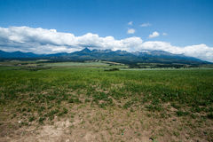 View on Vysoke Tatry Royalty Free Stock Photos