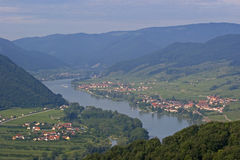 View at Wachau Stock Images
