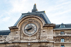 View of wall clock in D`Orsay Museum. Paris, france Stock Photography