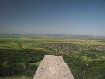 View from the wall of the Fortress above Madara Royalty Free Stock Image