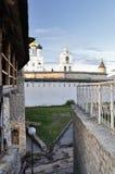 View on wall Pskov Kremlin, Krom Stock Image