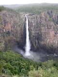 View of Wallaman Falls in Queensland Australia from Vista Point Royalty Free Stock Images
