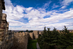 View from walls of Avila Stock Photos