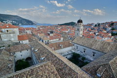 View from the walls. Dubrovnik. Croatia Royalty Free Stock Photo