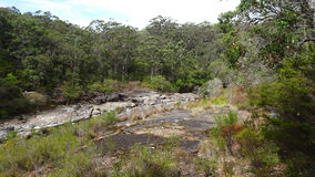 View of the Walpole River Western Australia in autumn. Royalty Free Stock Photos