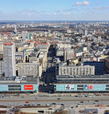 View of Warsaw Royalty Free Stock Images