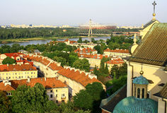 View of Warsaw Royalty Free Stock Photo