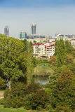 View of Warsaw - capital of Poland. Royalty Free Stock Photo
