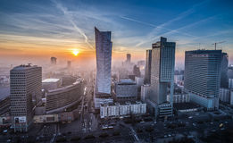 View in Warsaw Stock Image