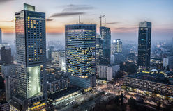 View in Warsaw Royalty Free Stock Photography