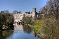 View of Warwick Castle Stock Photo