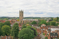 View from Warwick castle Royalty Free Stock Image