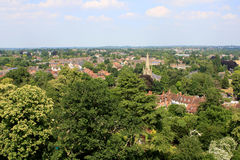 View from the Warwick castle Royalty Free Stock Image
